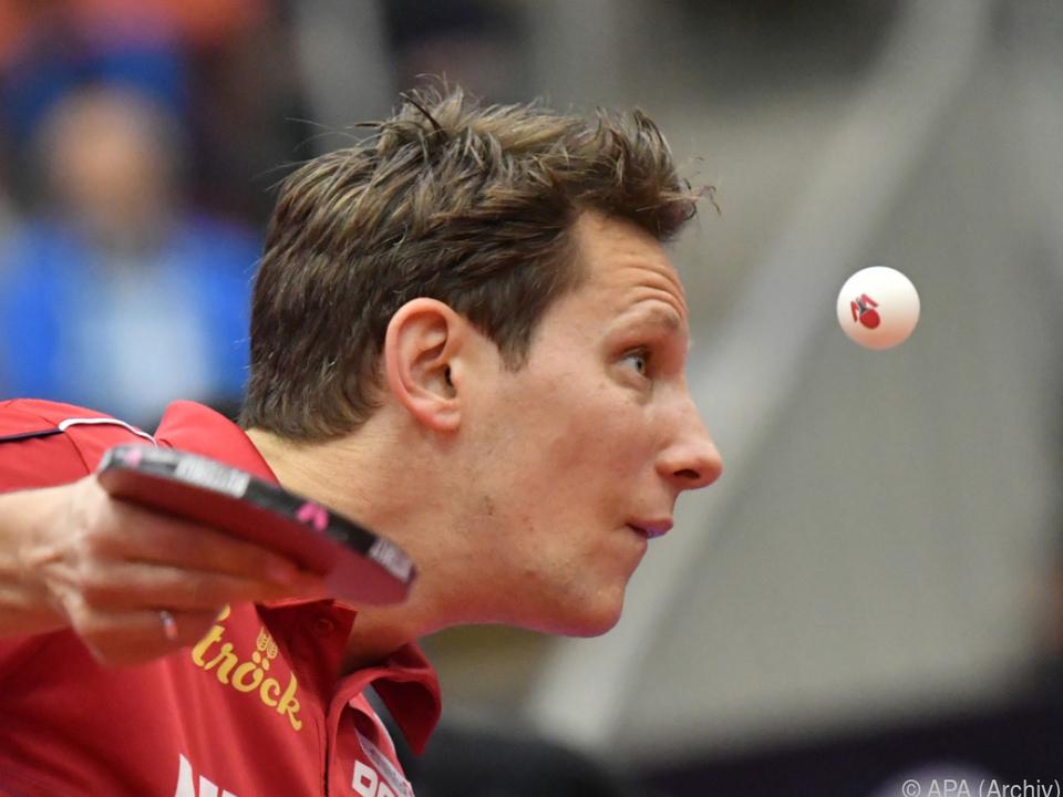 Robert Gardos überrascht beim Tischtennisturniers in Montreux