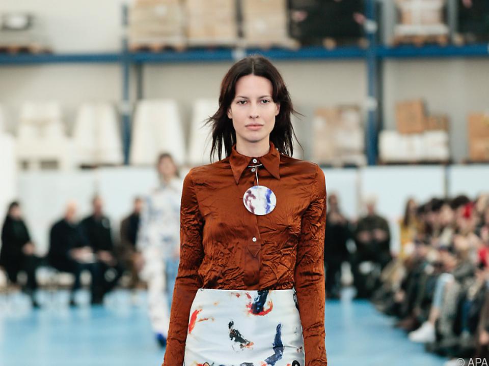 Schau des Wiener Modeschöpfers Arthur Arbesser in Mailand