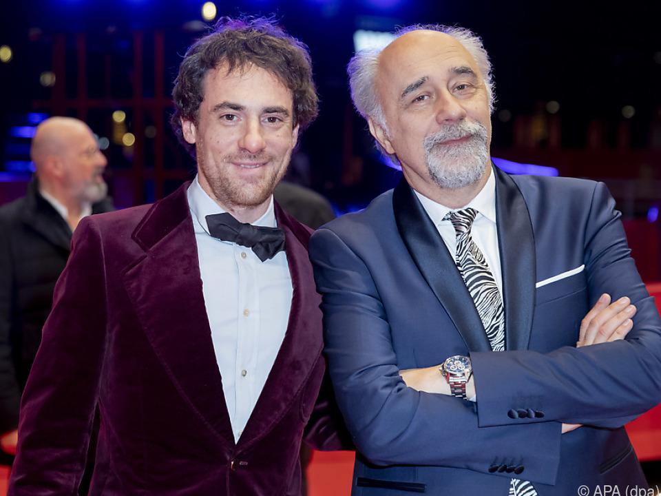 Schauspieler Elio Germano und Regisseur Giorgio Diritti