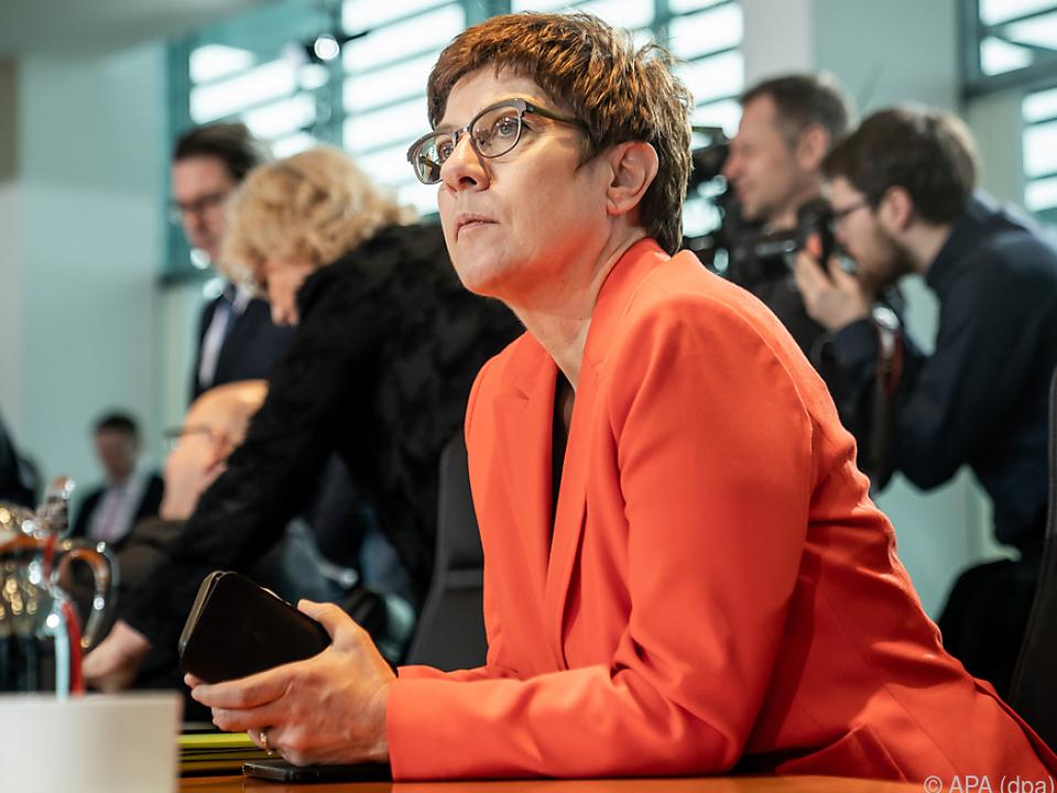 Scheidende CDU-Chefin Kramp-Karrenbauer muss einen Nachfolger finden