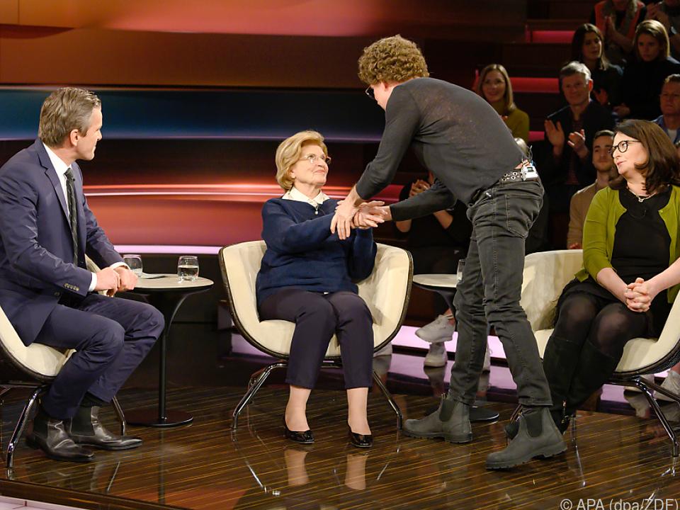 Schröder reichte Szepesi die Hand