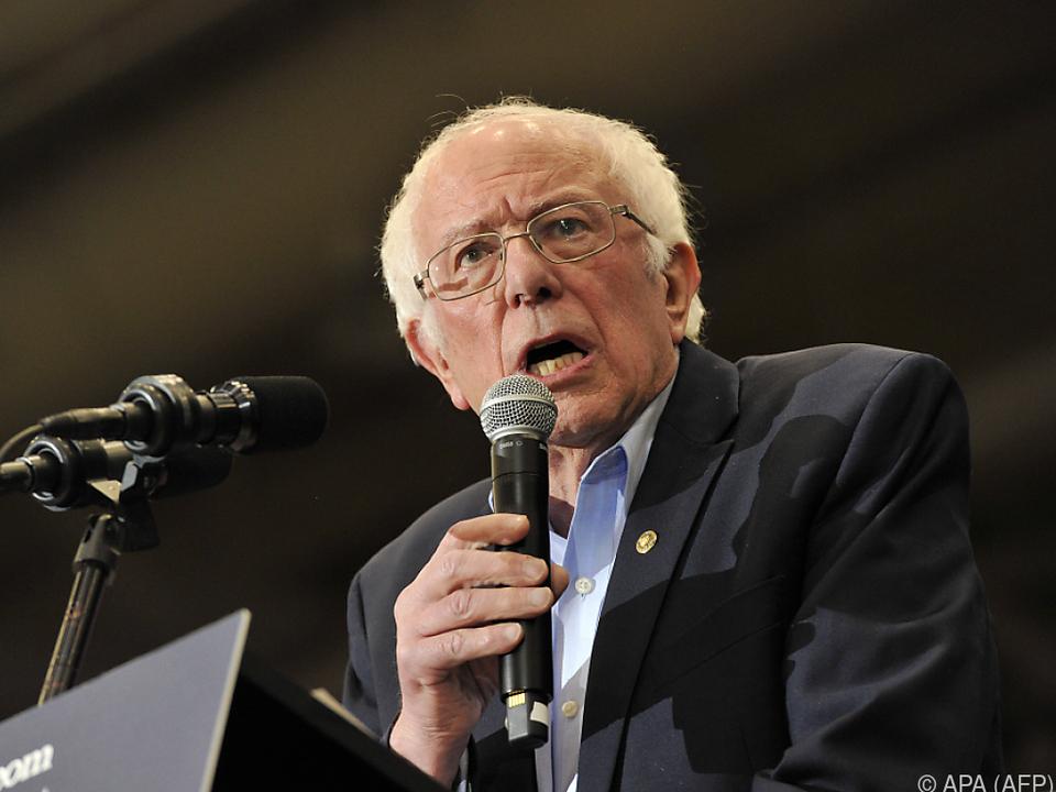 Senator Bernie Sanders gilt als einer der Favoriten