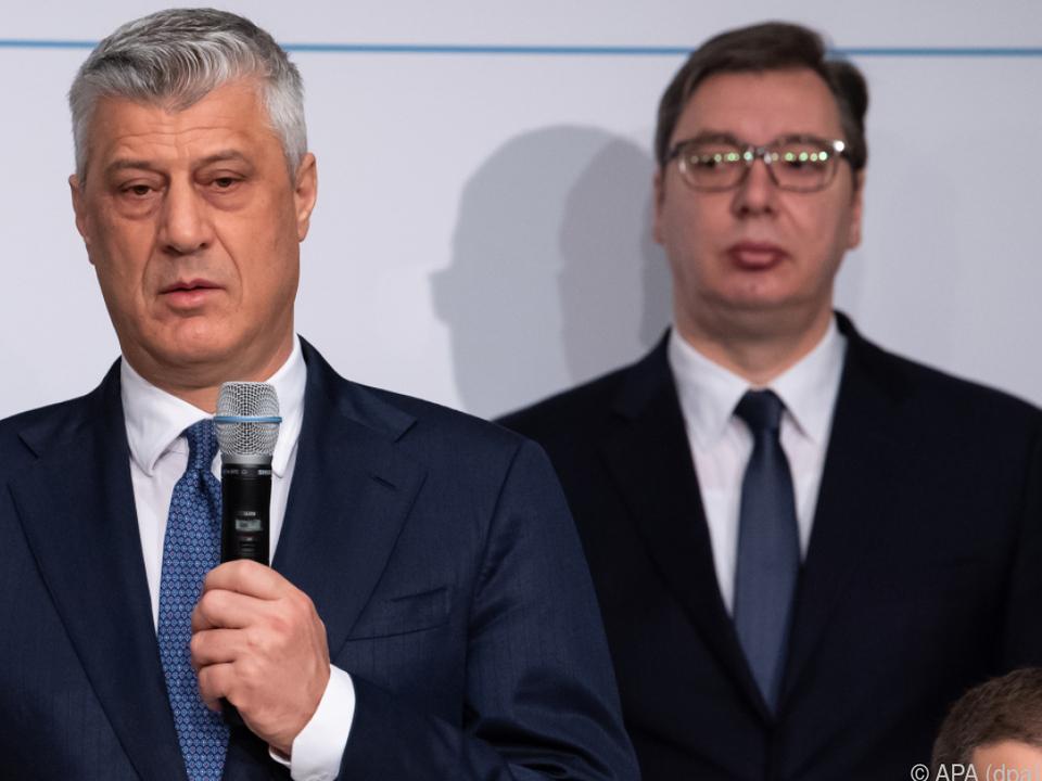 Serbien und Kosovo unterzeichnen Absichtserklärung
