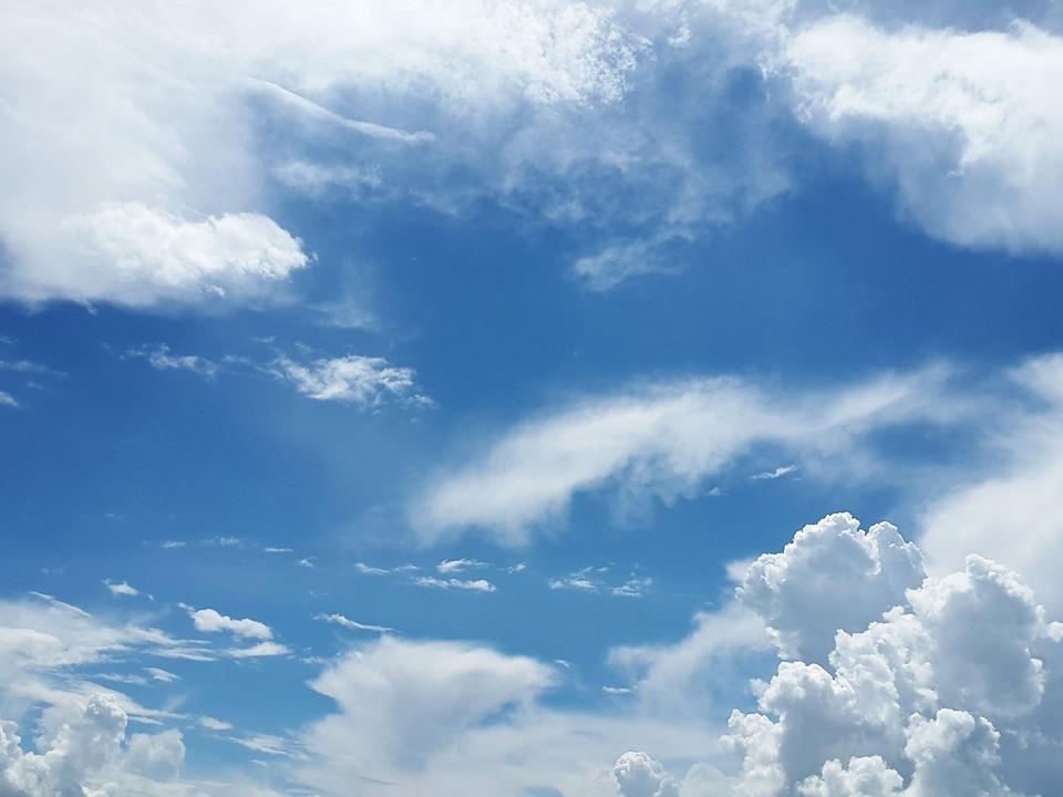 Himmel Wolken Wind