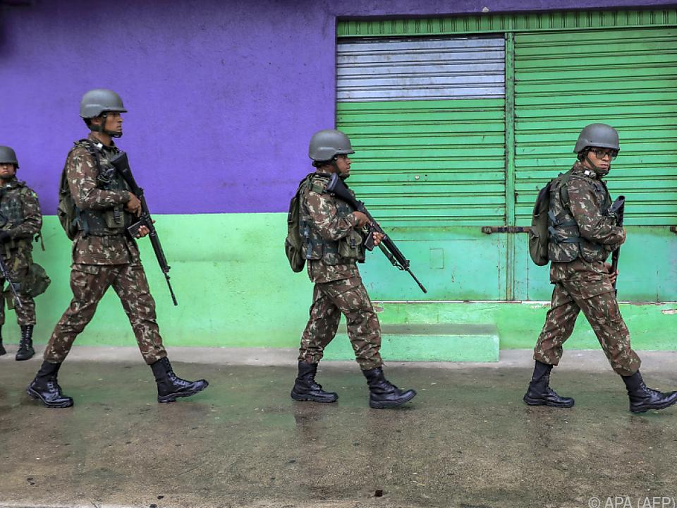 Soldaten wurden nach Ceara geschickt