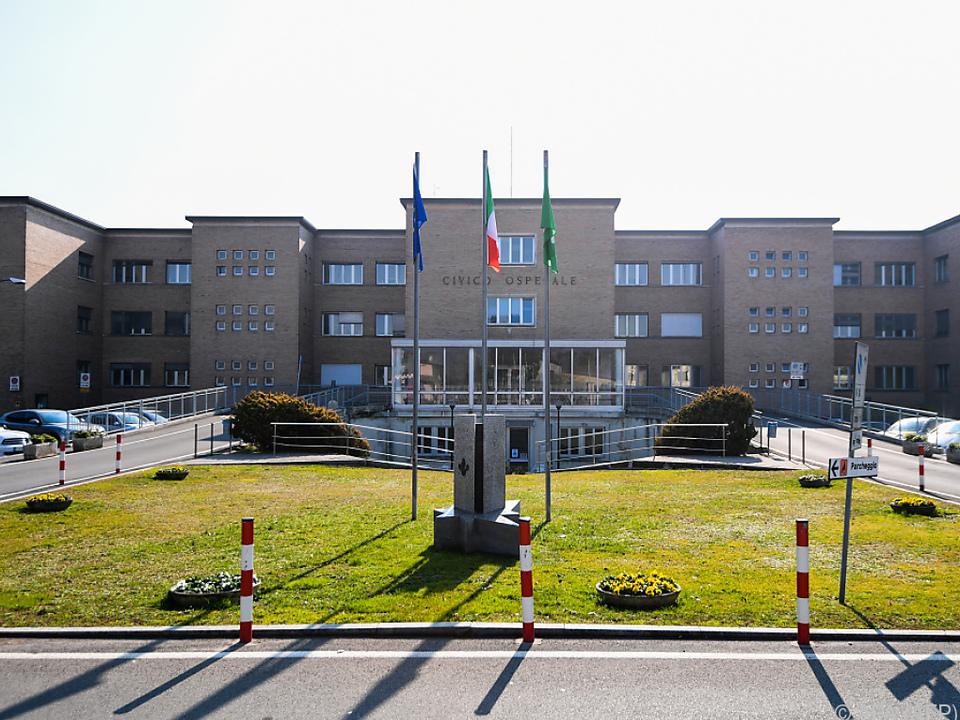 Spital in Kleinstadt Codogno