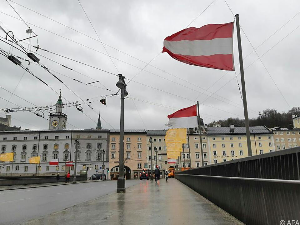 Sturmböen von 100 km/h fegen über Österreich hinweg