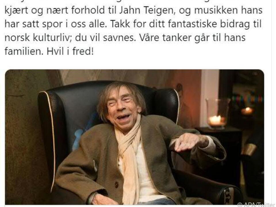 Teigen wurde 70 Jahre alt