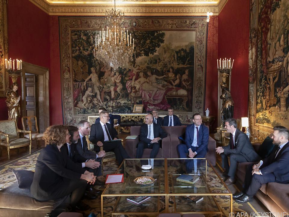 Treffen der Gesundheitsminister in Rom