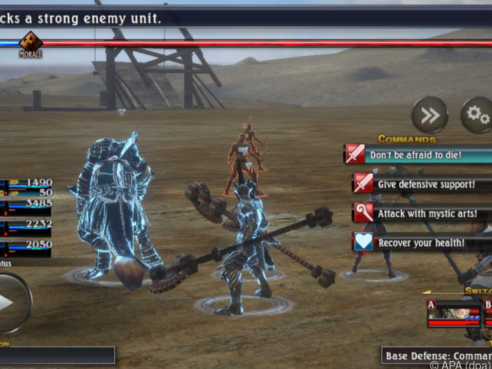 Ungewohnt viel Auswahl im Kampf für ein mobiles Spiel