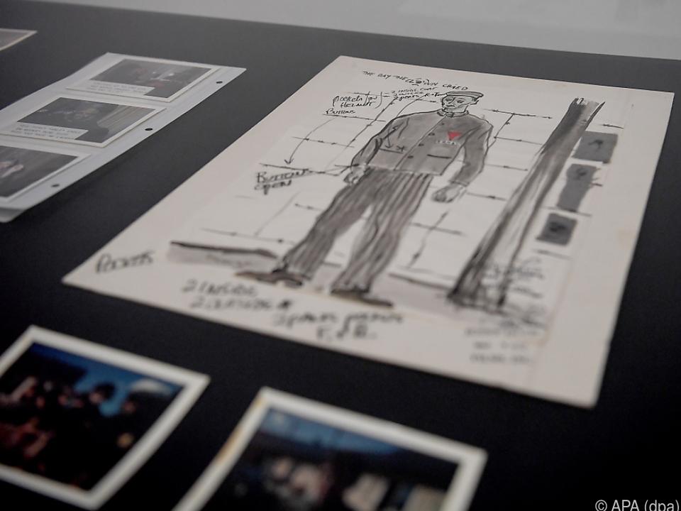 Unterlagen aus der Produktion des Jerry-Lewis-Films