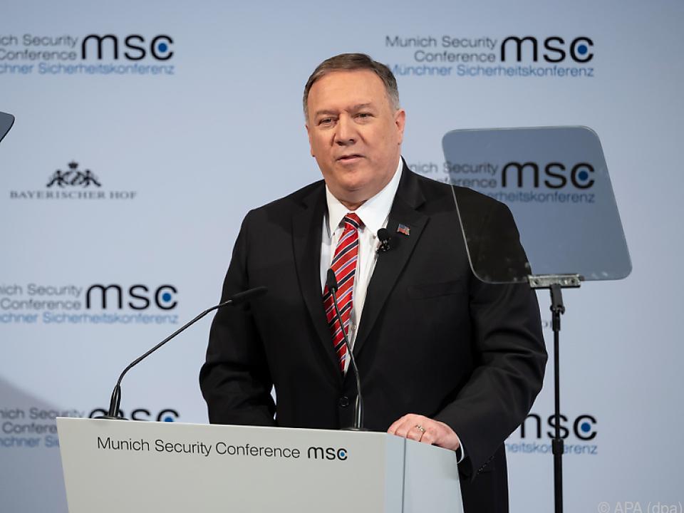 US-Außenminister Mike Pompeo gibt sich zuversichtlich