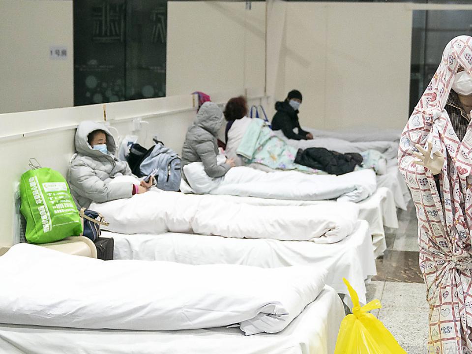 Virus nahm in Wuhan seinen Ausgang