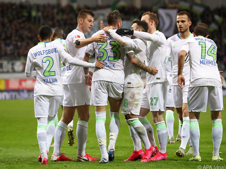 Wolfsburg kann aufatmen