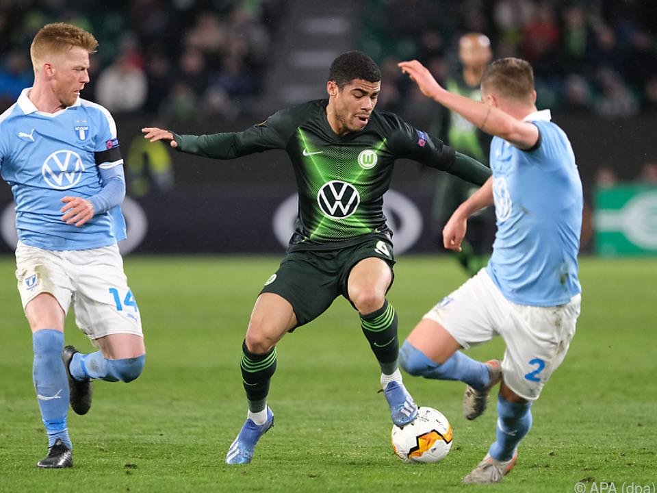 Wolfsburg plagte sich, es reichte aber zum Heimsieg