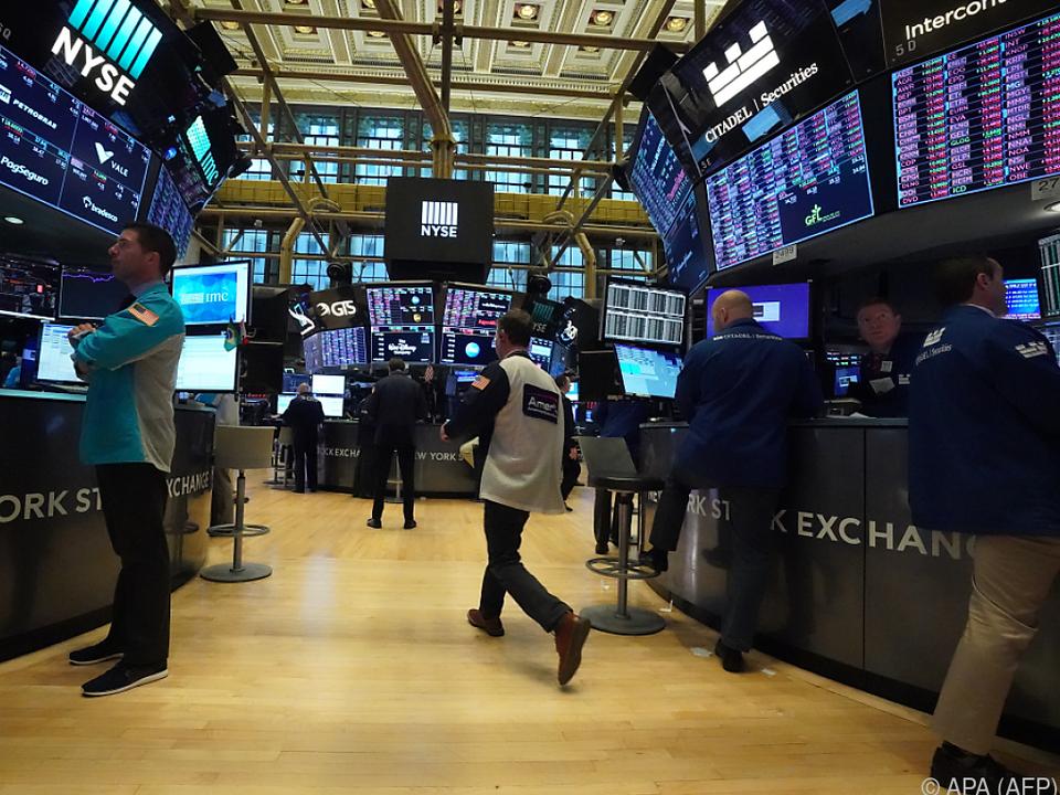 Aktienkurse auf Talfahrt