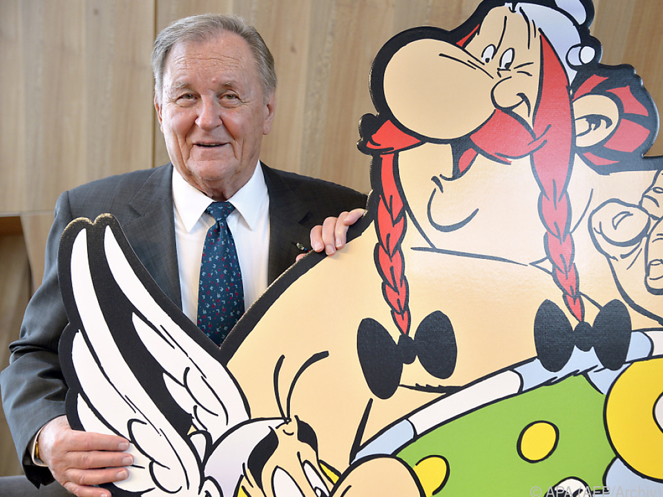 Albert Uderzo wurde 92 Jahre alt