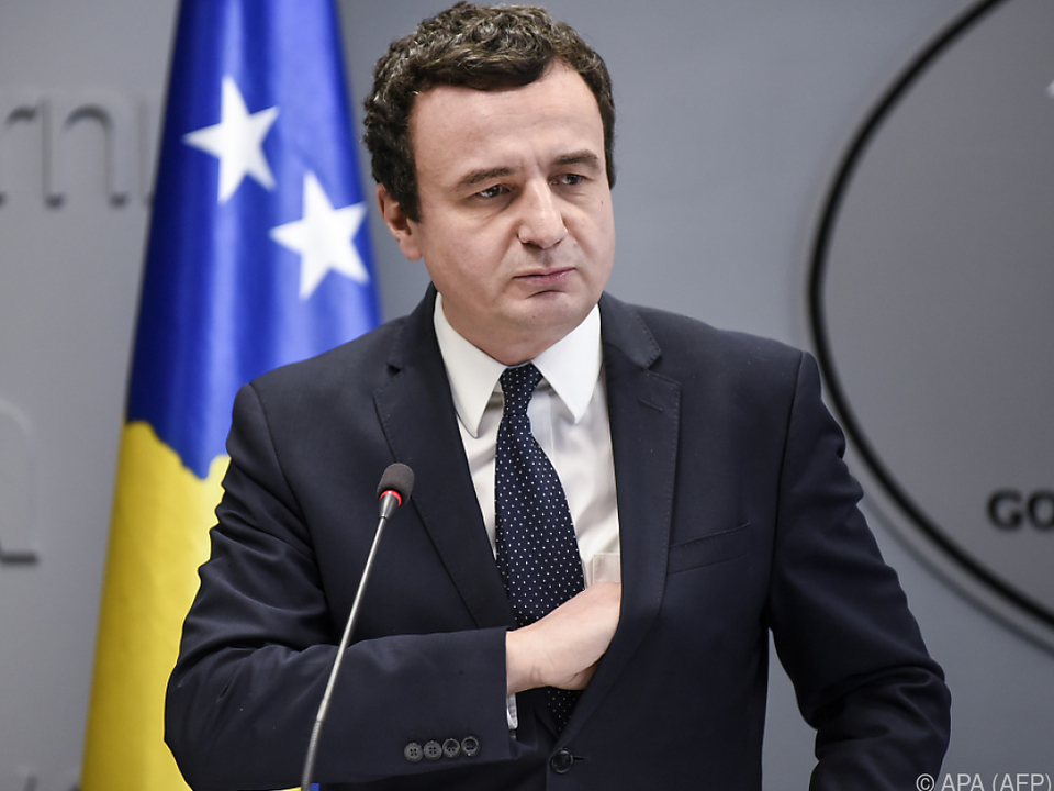 Albin Kurti, Ministerpräsident des Kosovo
