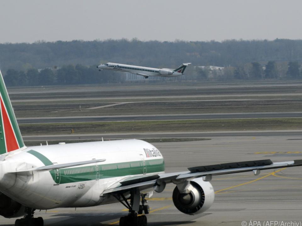 Alitalia auch ohne Corona-Virus schon am Boden