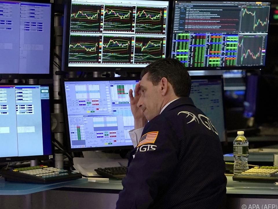 An der Wall Street entspannten sich die Kurse