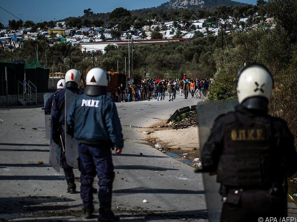 Angespannte Lage in Griechenland