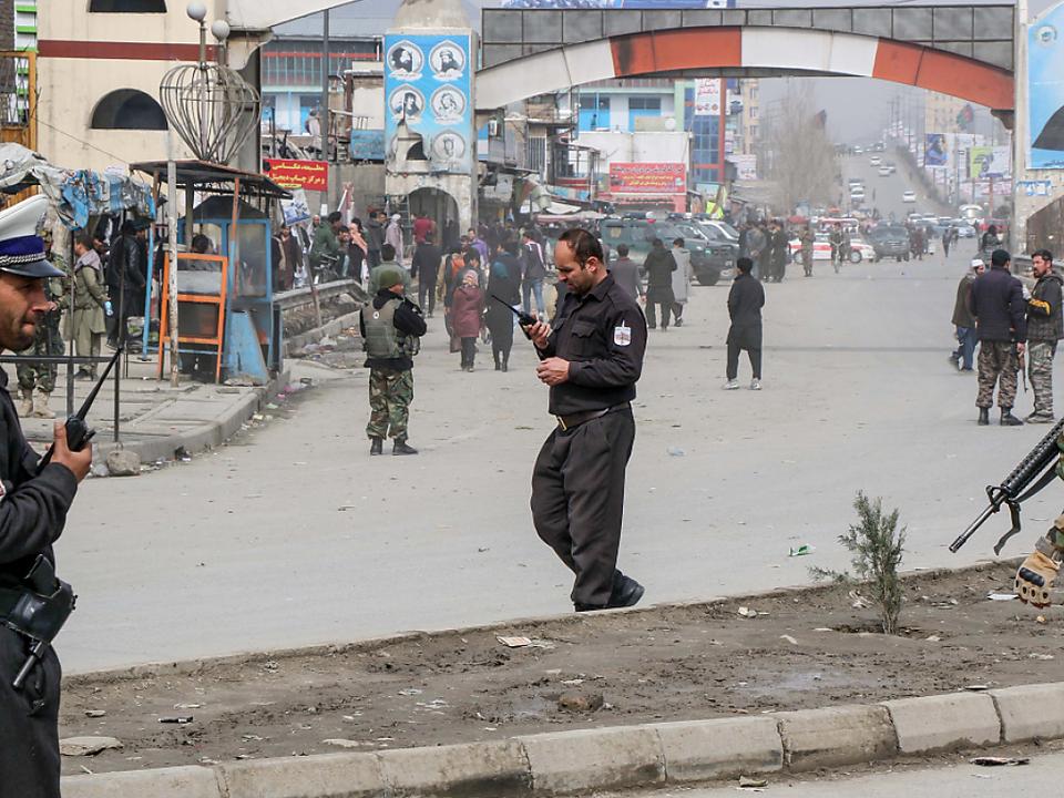 Anschlag mit über 30 Toten in Kabul