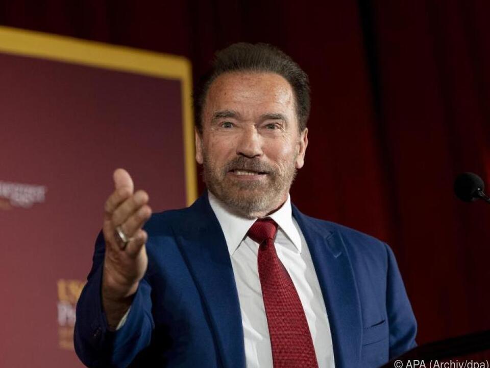Appell von Schwarzenegger: \
