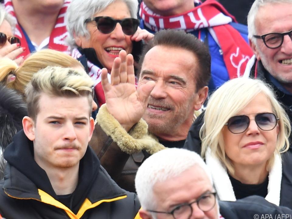 Arnold Schwarzenegger lobte Vorgehen Österreichs in der Corona-Krise
