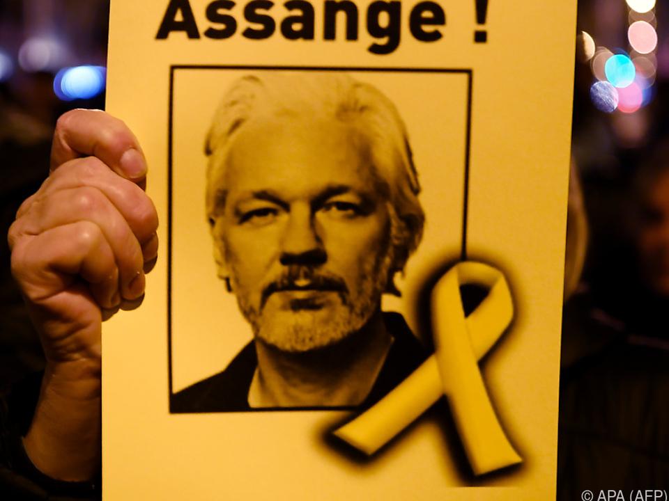 Assanges Anwälte hatten besondere Gesundheitsgefährdung betont