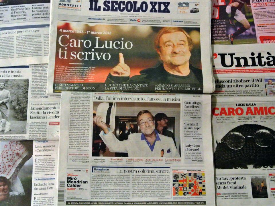 Zeitungen Italien Tageszeitungen