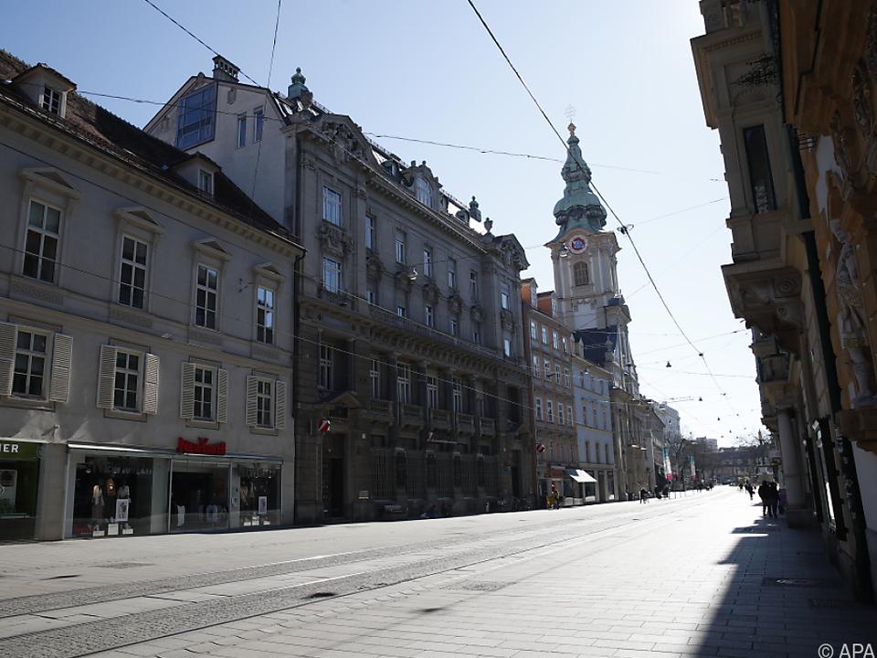 Auch Graz steht still