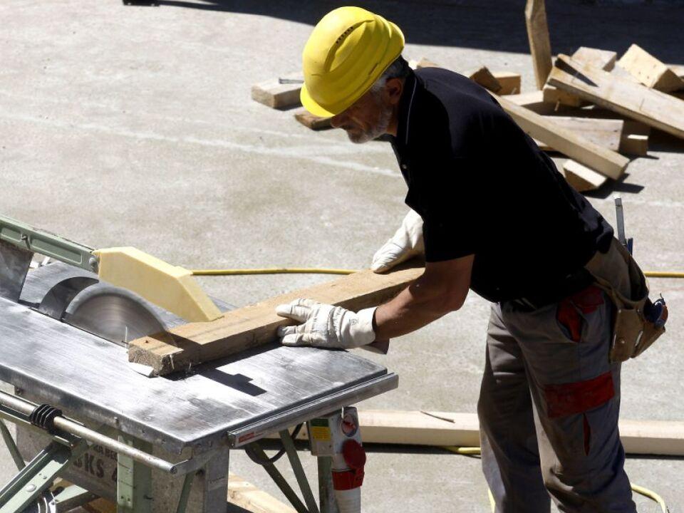 Auf zahlreichen Baustellen wird trotz Coronavirus gearbeitet