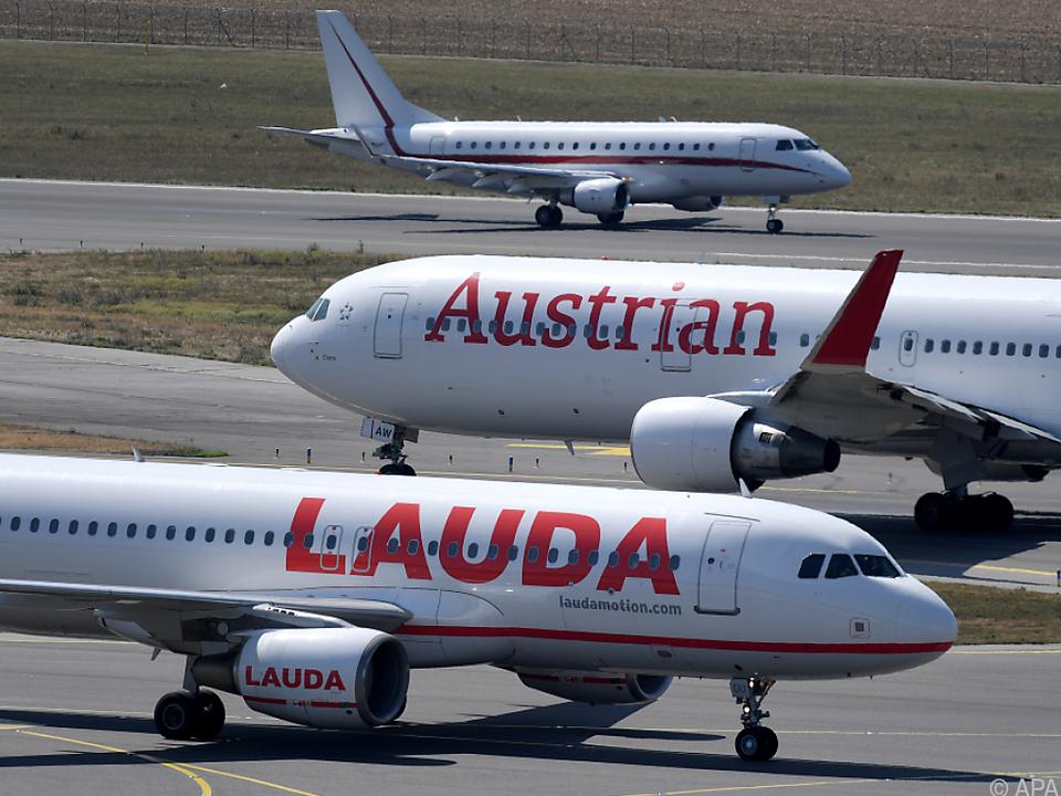 Austrian und Laudamotion sind von der Corona-Krise betroffen