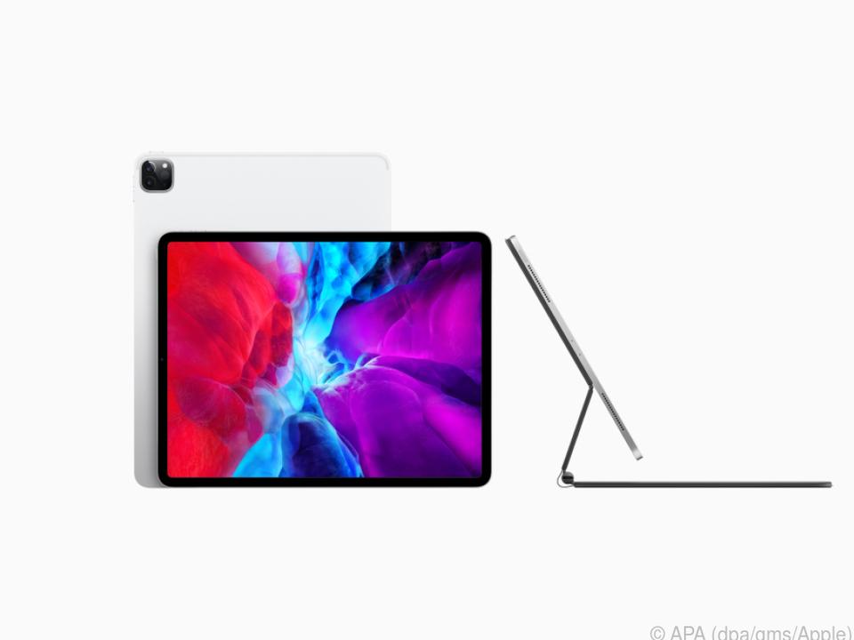 Bald fast schon ein Notebook: iPad Pro mit ab Mai erhälticher Extra-Tastatur