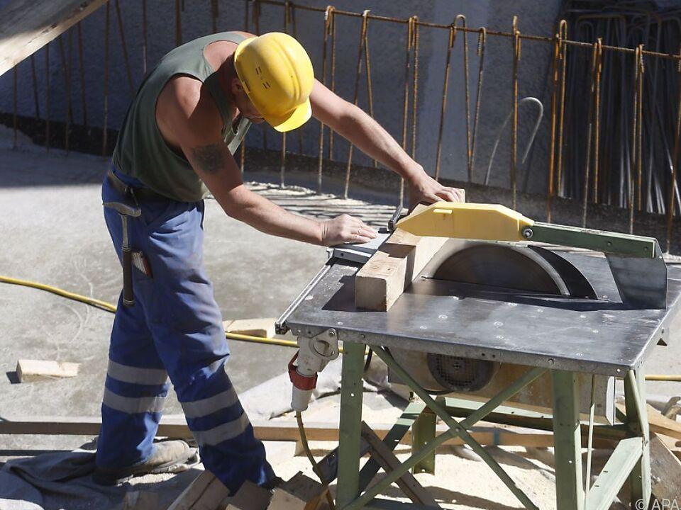 Bauarbeiter sollen geschützt werden