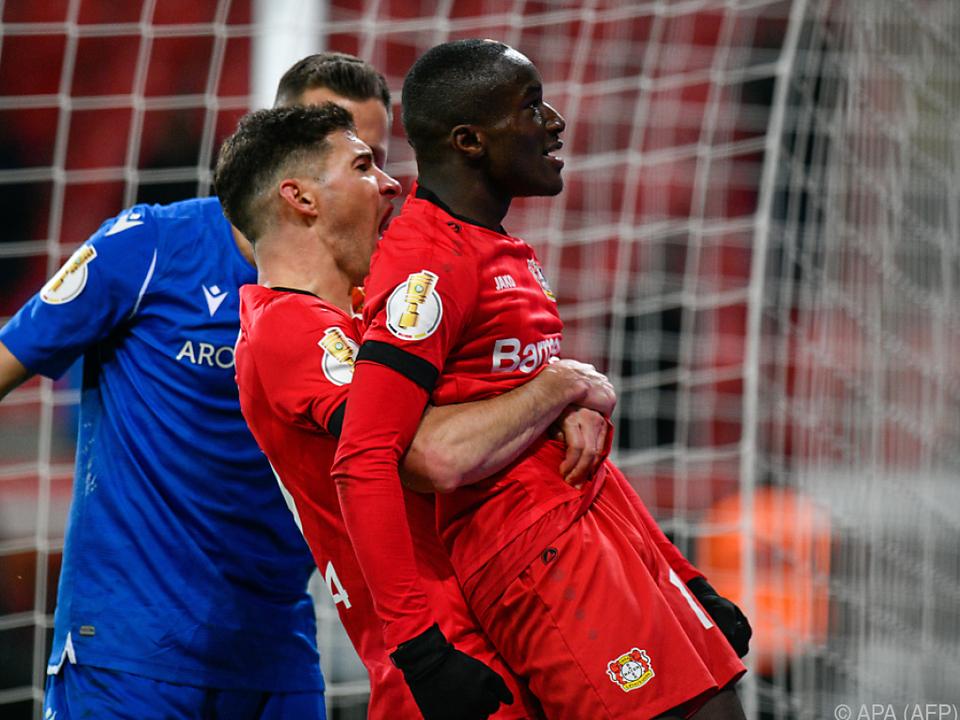 Bayer Leverkusen hat Grund zum Jubeln