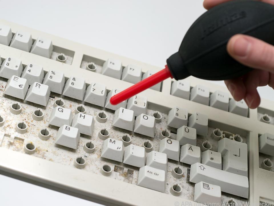 Bei mechanischen Tastaturen lassen sich die Tasten ablösen