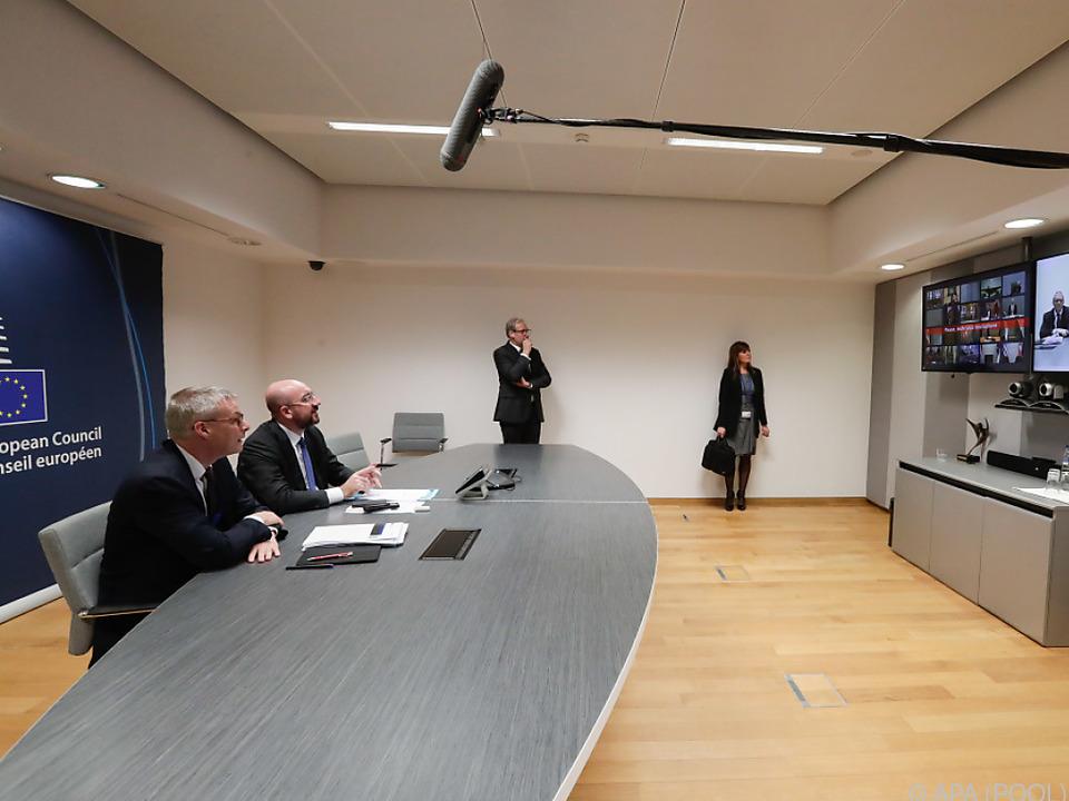 Bereits vergangene Woche gab es Beratungen per Videokonferenz