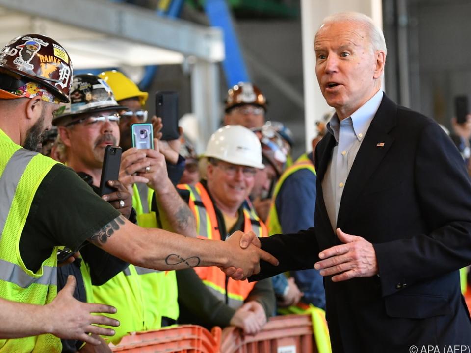 Biden gewinnt Vorwahl im US-Staat Michigan
