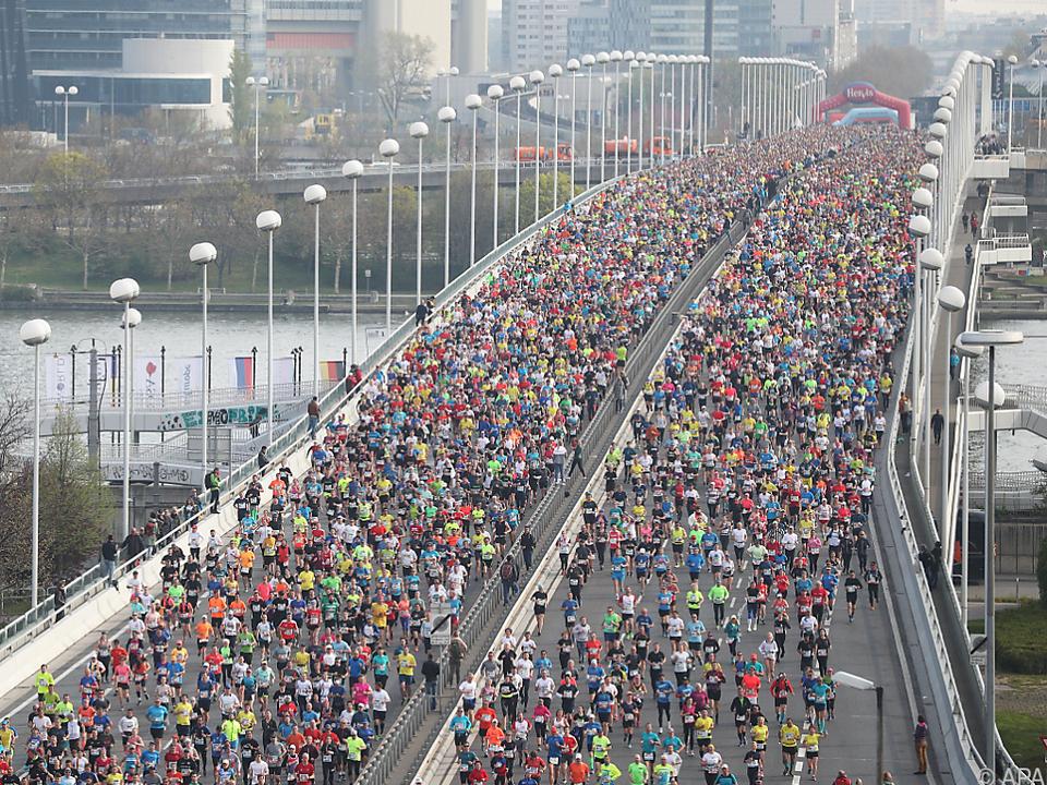 Bilder vom 36. Wien-Marathon
