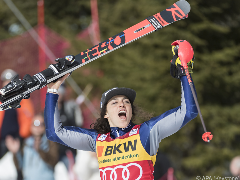 Brignone ist die erste italienische Gesamtweltcupsiegerin