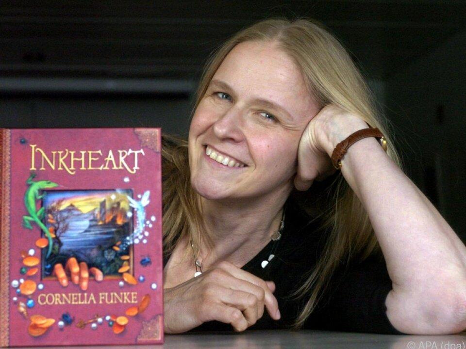 Cornelia Funke feierte große Erfolge mit der Tintenherz-Reihe