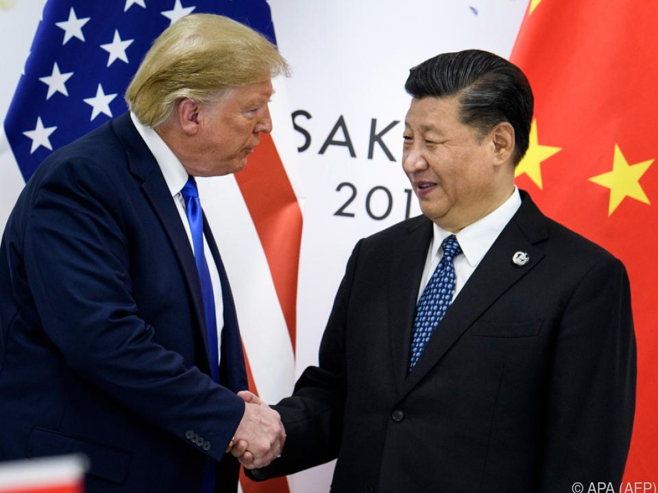 Coronavirus bringt Annäherung zwischen Trump und Xi (Archivbild)