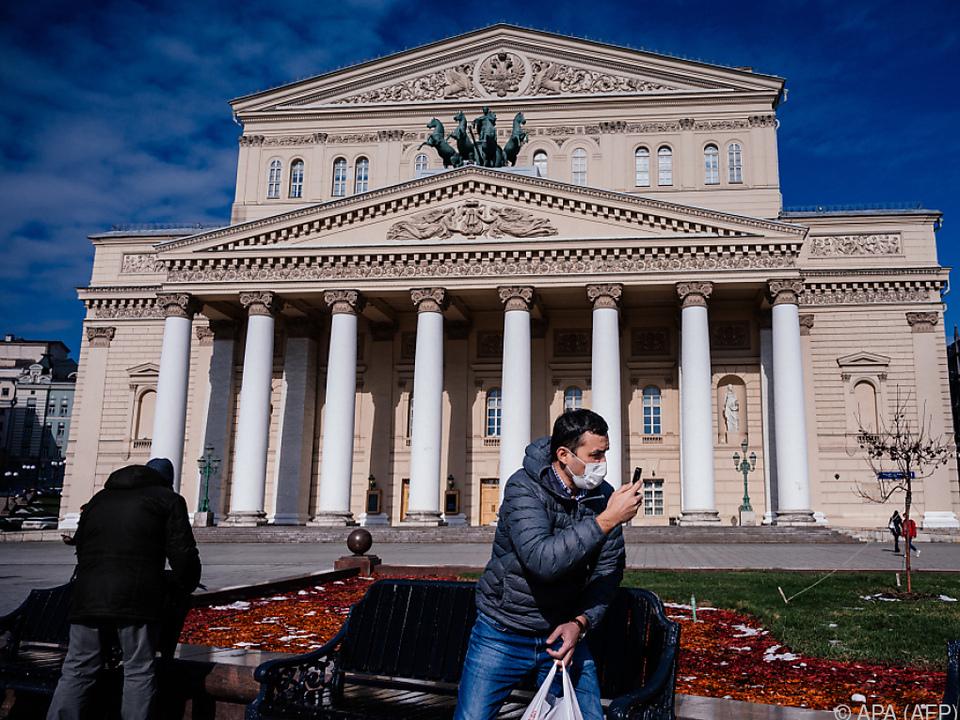 Das Bolschoi Theater ist derzeit geschlossen