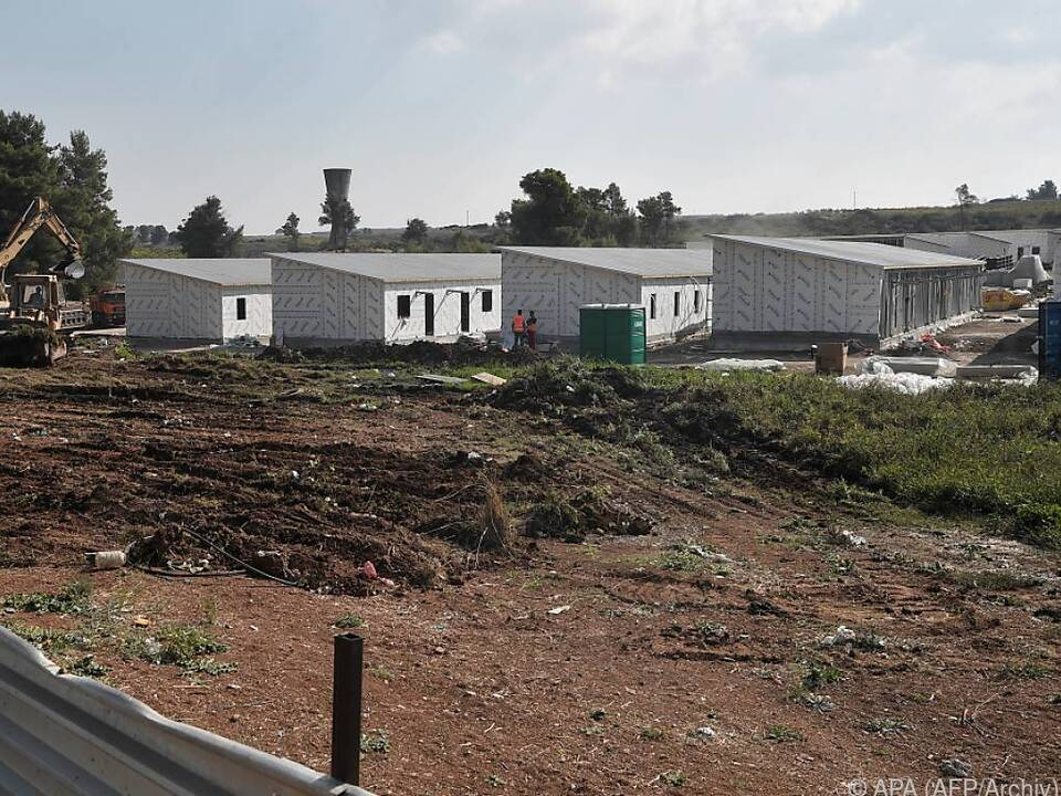 Das Camp von Ritsona bei Athen ergriff Maßnahmen