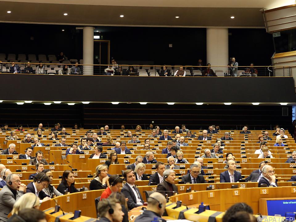 Das Europa-Parlament berät zum Coronavirus