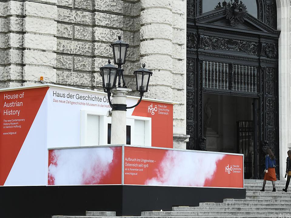 Das Museum am Heldenplatz übersiedelt zwischenzeitlich ins Internet