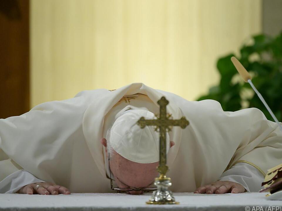 Das Wichtigste ist laut dem Heiligen Vater derzeit Demut
