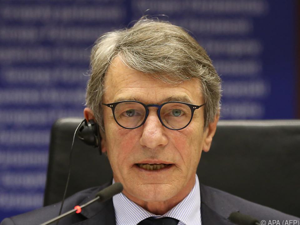David Sassoli hält die Demokratie am Leben