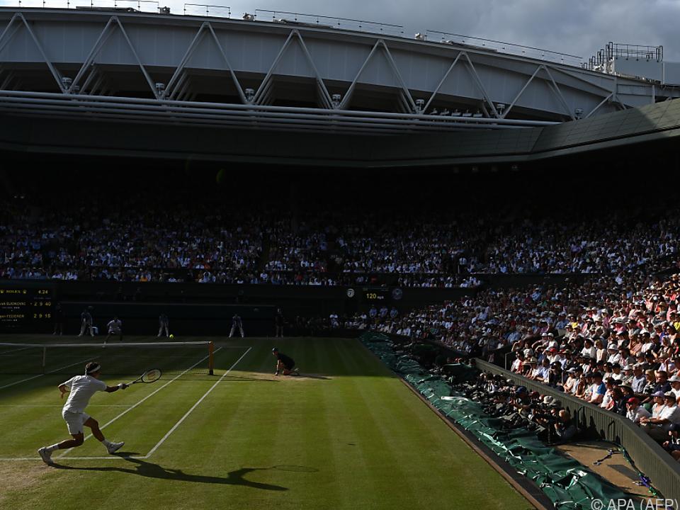 Der All England Lawn Tennis Club könnte heuer leer bleiben